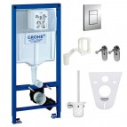 Grohe kompl. 6 in 1 + Cosmo  taust. + Grohe Fresh